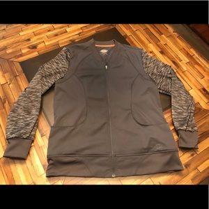 Dickies Other - Dickies Gray Scrub Jacket Medium
